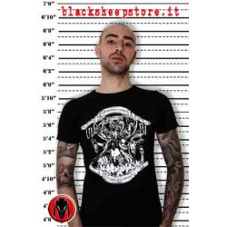 "T-SHIRT UOMO ""KALI"", Dark, Punk, metal, punk, alternative"