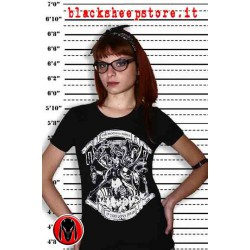 "T-SHIRT DONNA ""KALI"" dark, punk, metal, emo, alternative"