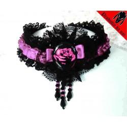 """Collarino """" Shining Rose """""""
