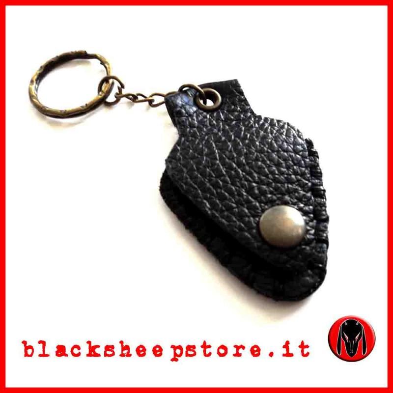 Porta pletto artigianale nero
