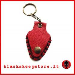 Porta pletto artigianale rosso