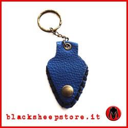 Porta pletto artigianale Blu