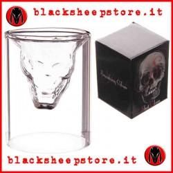 Bicchierini con interno a forma di Teschio