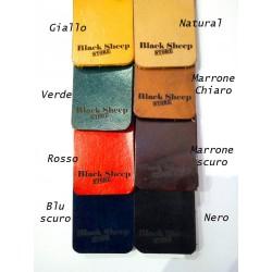 Tracolla in cuoio - disponibile in vari colori